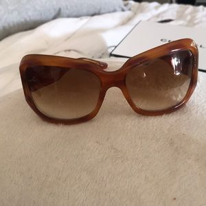 Oliver Peoples Sunglasses tortoise brown w